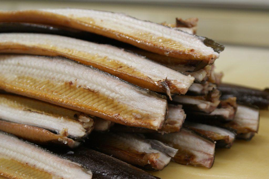 Gerookte paling, ambachtelijk gerookt in Spaarndam